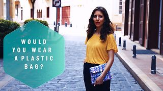 These recycled bags are the trendiest trash around - Video