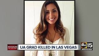 Friend remembers an Arizona graduate killed in Las Vegas
