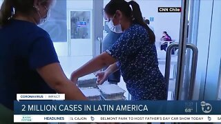 2 million COVID-19 cases in Latin America