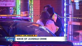 A wave of juvenile violence, crime numbers skyrocketed over last five years - Video