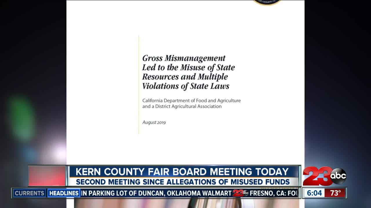 Kern County Board of Directors holds second meeting since allegations