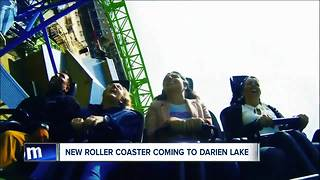 Darien Lake unveils new roller coaster for summer 2018 - Video