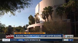 Mold investigation underway at Grant Sawyer building - Video