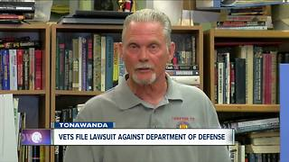 Vets, UB file lawsuit against Dept of Defense - Video