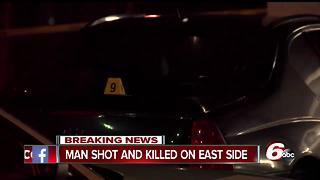 Man shot, killed near Family Dollar on Indianapolis' east side - Video