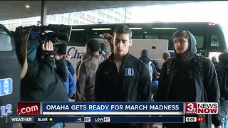 March Madness arrives in Omaha - Video