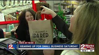 Local businesses prepare for Small Business Saturday - Video