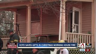 Christmas morning fire may have been intentional