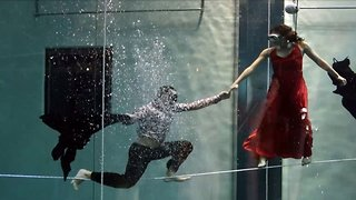 Watch: Duo break record for longest underwater dance performance without breathing