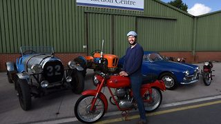 Man inherits dads impressive classic car collection worth a huge £100,000