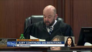 Jury continues deliberations in Kraemer Trial