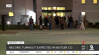 Butler County sees record breaking number of voters