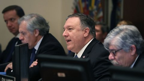 Pompeo Says The US Is Ready To Send Venezuela $20M In Aid
