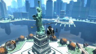 Gta IV - Inside the Statue of Liberty