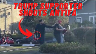 Trump Supporter Shoots Antifa Militant In Olympia, Washington!