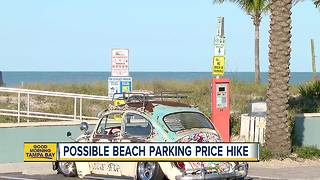 Madeira Beach considers parking fee increase - Video