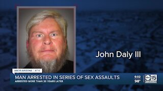 Valley man arrested in series of sexual assaults