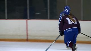 A family affair for FLOP girls hockey - Video
