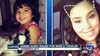 AMBER ALERT: Woman taken with 1-year-old child from Commerce City area; police searching Pueblo area - Video
