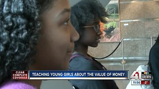 Teaching young girls about the value of money