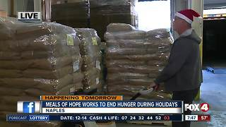 Meals of Hope works to end hunger for the holidays - 7:30am live report - Video
