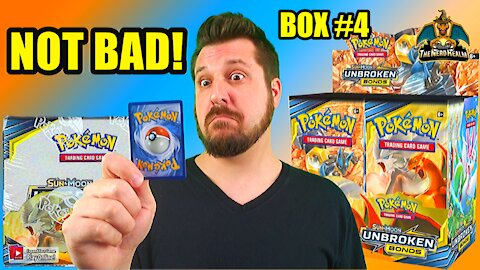 Pokemon Unbroken Bonds Booster Case Opening (Box 4) (Charizard Hunting)