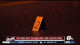 2 people shot near west side liquor store - Video