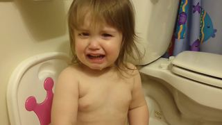 A Tot Girl Wants Ice Cream But Doesn't Want To Pee - Video