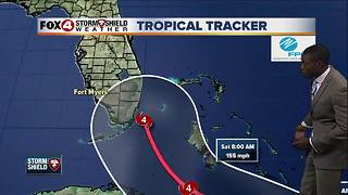 Hurricane Irma -- 12:30pm Thursday update - Video
