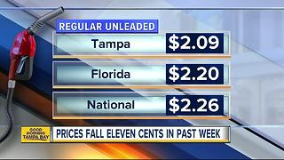 Florida gas prices start summer at 12-year-low