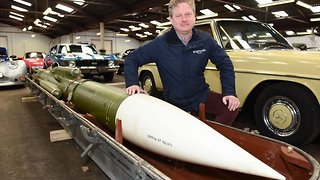 Explosive Auction! Mystery Russian Missile Set To Go Under The Hammer