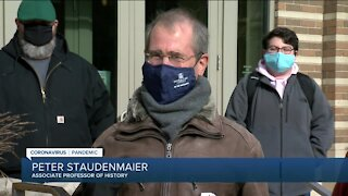Marquette University employees protest potential layoffs amid COVID-19 pandemic