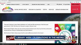 Mid-Continent Public Library celebrates National Library Week - Video