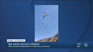 PCSD highly advises hiker safety tips as rescue calls increase