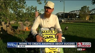 Riding to Raise Awareness about Suicide