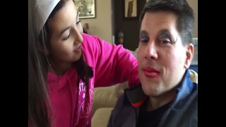 Girl Explains the Makeover she Gave her Dad