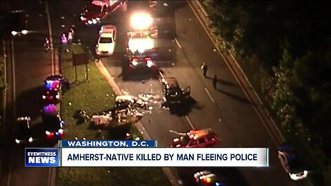 Amherst woman killed by man running from police in DC