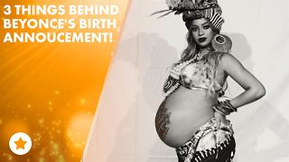 Here's the drama behind Queen Bey giving birth to twins - Video
