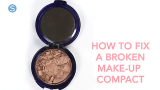 DIY: How to Fix A Broken Makeup Compact | Simplemost - Video
