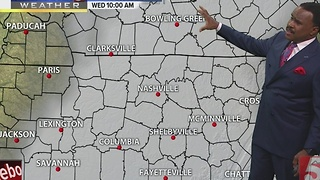 Lelan's Morning Forecast: Monday, January 23, 2017 - Video