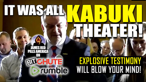 "MORE NEW DAMNING TESTIMONY?! ""It Was ALL #KabukiTheater!"" This Insider Will BLOW Your MIND! BOOOM!"