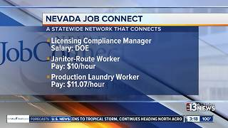 Nevada Job Connect for week of Sept. 11 - Video