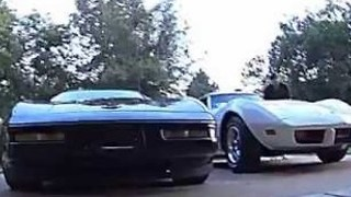 Father and Son Take Corvette for a Spin - Video