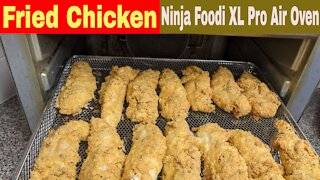 Air Fried Chicken Tenderloins, Ninja Foodi XL Pro Air Fry Oven Recipe