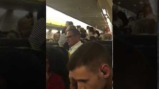 Fight on Ryanair Flight Forces Plane to Divert to Pisa - Video