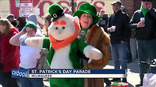 St. Patrick's Day Parade in Milwaukee