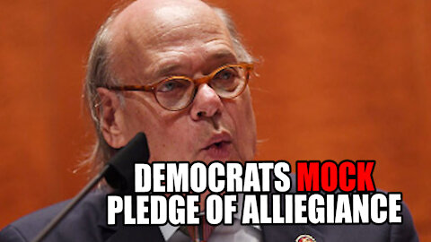 Democrats MOCK Pledge of Allegiance CAUGHT on HOT MIC!