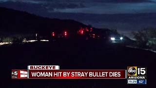 Police identify woman killed by stray bullet in Buckeye - Video