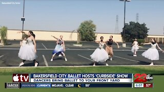 Bakersfield City Ballet hosts 'curbside' performance