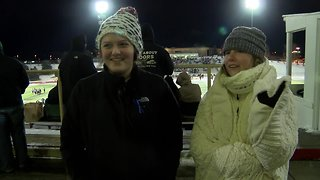 Fans forced to watch playoff football in freezing temps